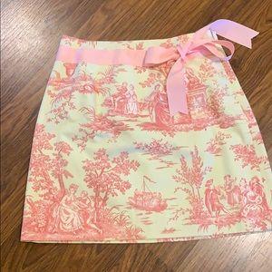 Toile skirt